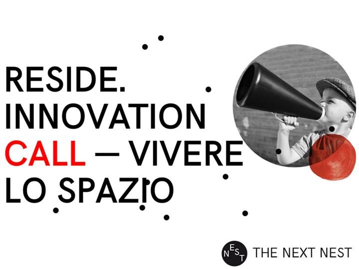 Al via Reside Innovation Call – Vivere lo spazio