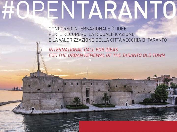 #OPENTARANTO: 15 giorni alla scadenza del concorso di idee