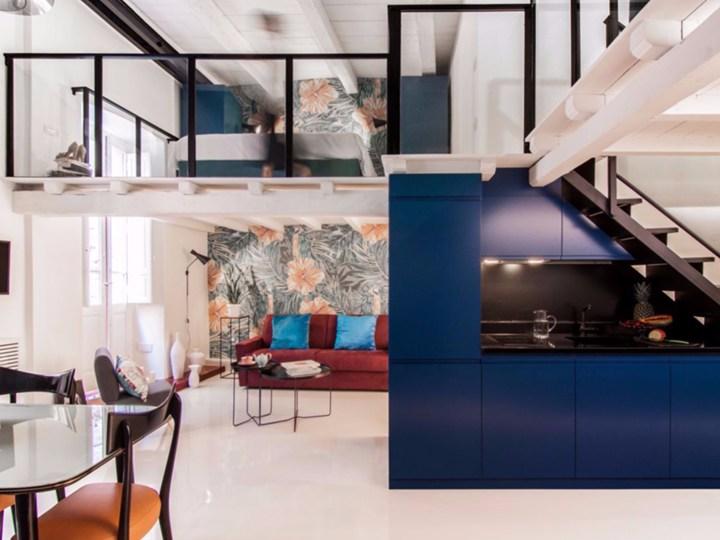 14 Cobalto: il relooking di un loft da 50 mq