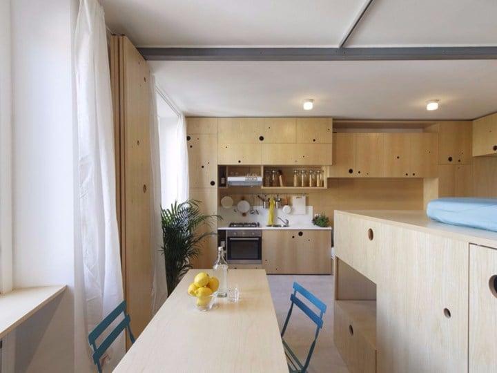 Brera apartment: ampiezza e flessibilità in soli 34 mq