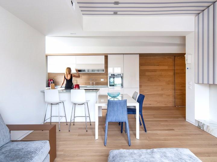 Bla Architettura ridisegna un appartamento anni '50 a Cuneo