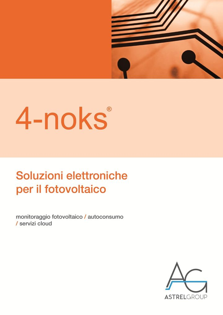4-noks/Astrel Group presenta il nuovo catalogo dedicato al fotovoltaico