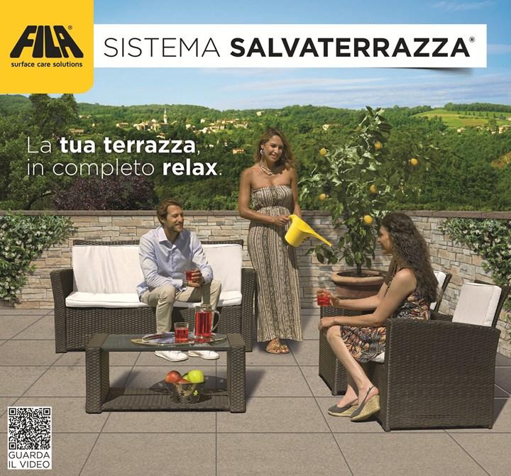 Vivi la tua terrazza in completo relax con il sistema Salvaterrazza