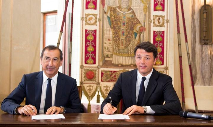 Firmato il Patto per Milano: 2,5 miliardi di euro fino al 2020