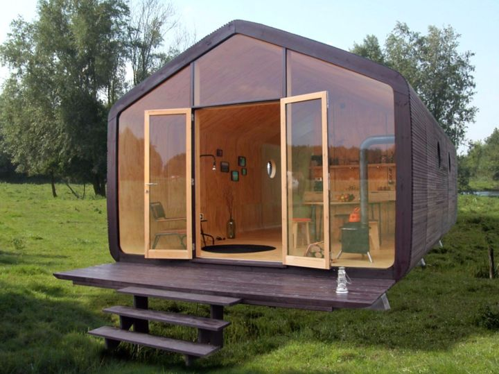 Abitereste in una vera e propria casa di cartone?