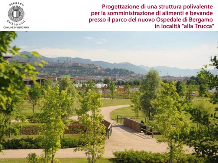 Bergamo: una struttura polivalente nel Parco 'alla Trucca'