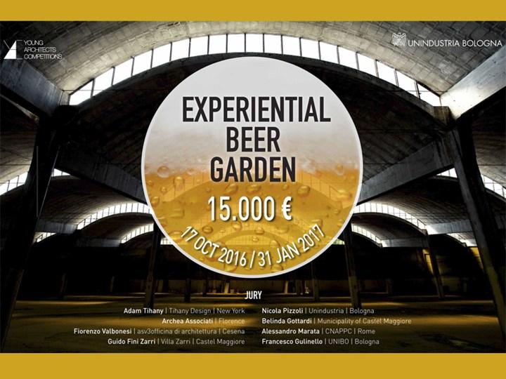 YAC lancia il concorso di idee Experiential Beer Garden