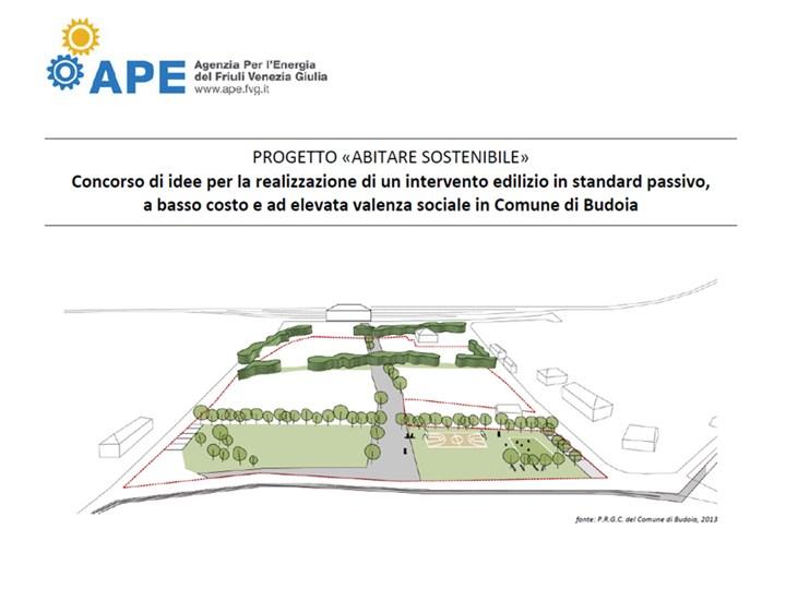 """L'APE FVG lancia il concorso di idee """"Abitare sostenibile"""""""