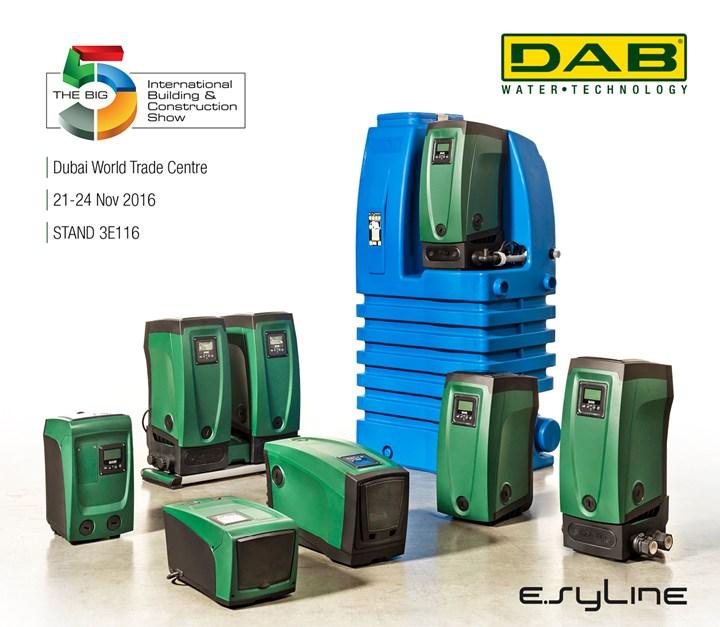 Al The Big5 di Dubai know-how e Italian technology by DAB