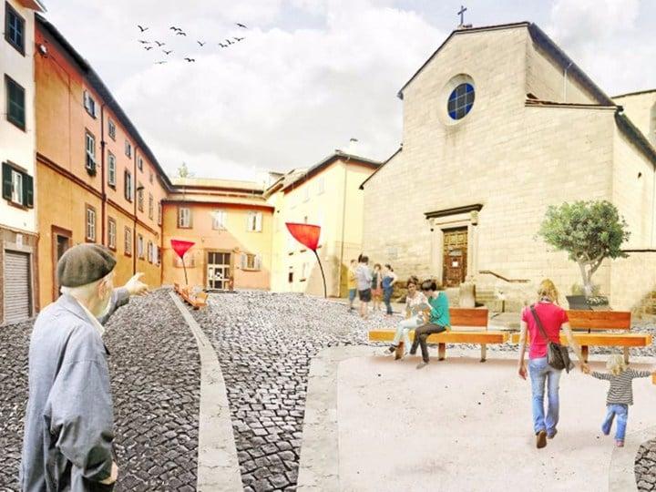 B+Parchitetti vince il concorso a Viterbo per 'le piazze fanno centro'
