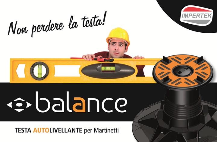 BALANCE di Impertek: la nuova testa autolivellante per Martinetti