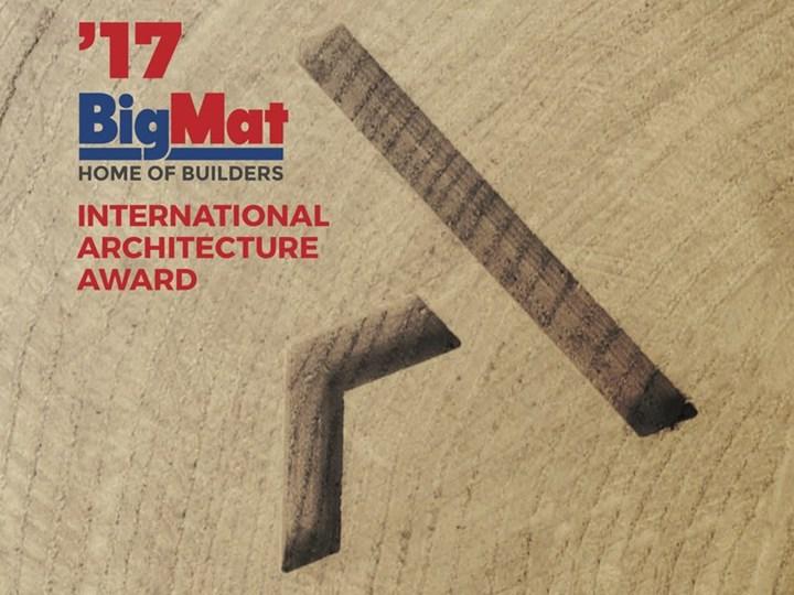 Bigmat International Architecture Award 2017