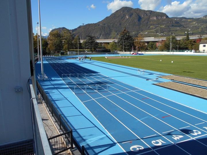 Aco Sport per il nuovo campo di atletica di Bolzano