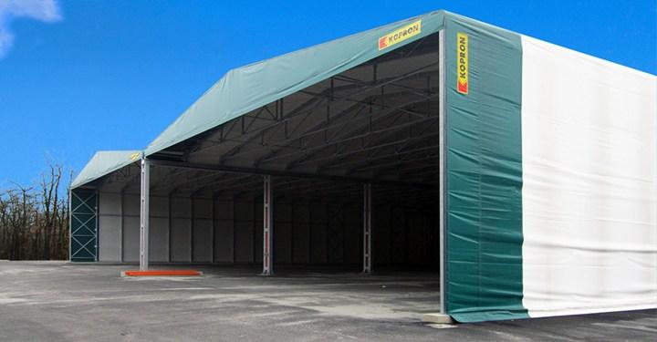Plastipol sceglie Kopron per la realizzazione dei suoi capannoni mobili in PVC