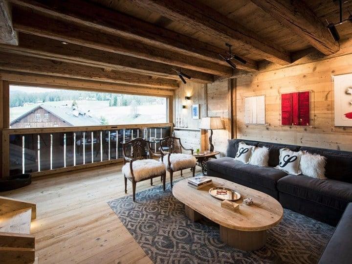 A Cortina un omaggio all'architettura alpina del Toula
