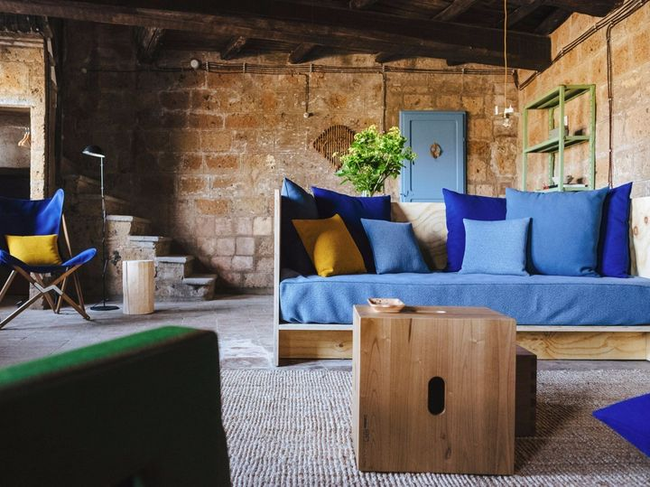A Civita di Bagnoregio la 'Casa d'Artista' di Airbnb