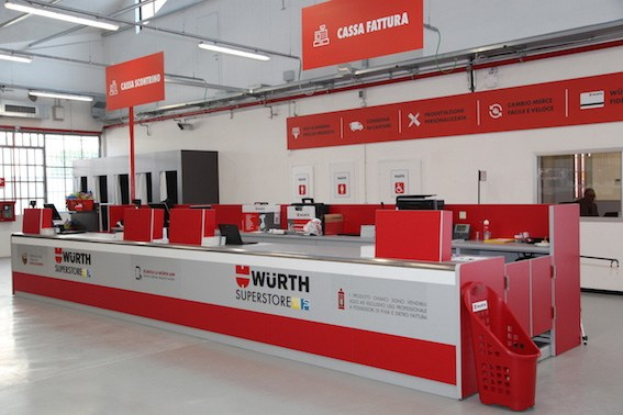 Apre Würth Superstore a Pero (Mi)