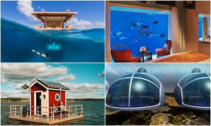 Vacanze in fondo al mare, strutture oltre i limiti