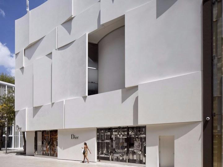 BarbaritoBancel Architects disegna la facciata del Dior Miami