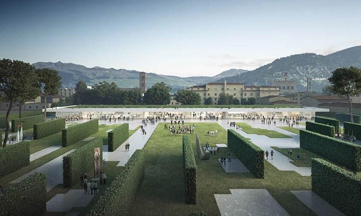 Progetto per il Parco Centrale del Comune di Prato