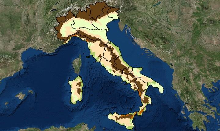 Casa Italia, online la mappa dei rischi dei comuni italiani
