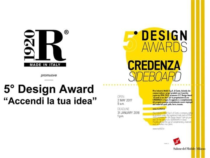 """5° Design Award """"Accendi la tua idea"""" - Credenza"""