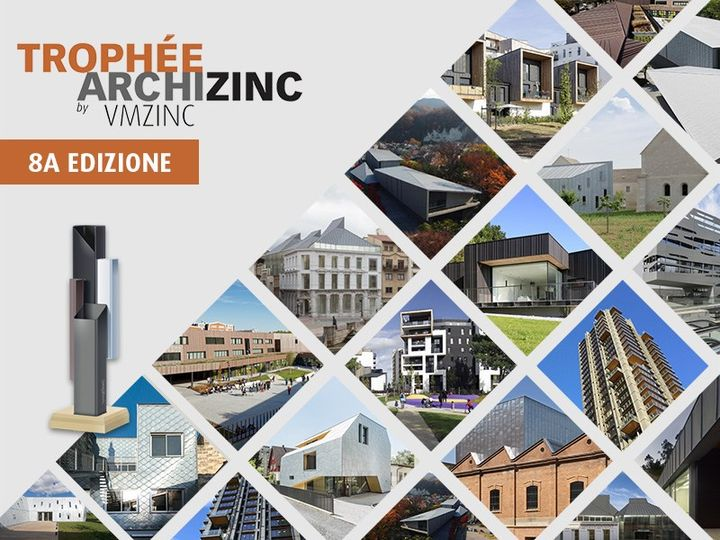 Al via l'ottava edizione del Trofeo Archizinc di VMZINC®