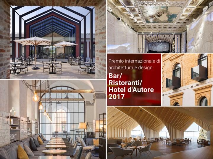 Bar/Ristoranti/Hotel d'Autore 2017: i vincitori