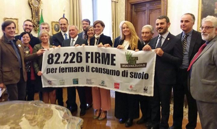 Consumo di suolo, la coalizione 'Salvailsuolo' chiede di varare la legge