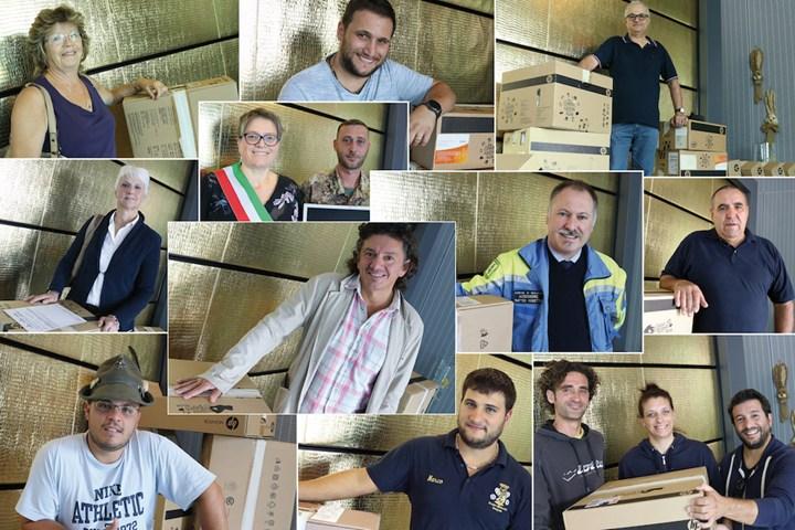 Breda regala computer a scuole e associazioni