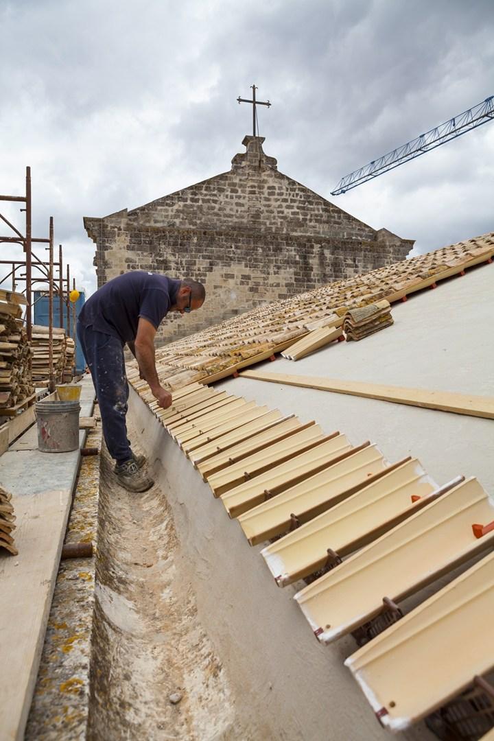 AERtetto per la Basilica di Santa Maria della Vittoria a San Vito dei Normanni