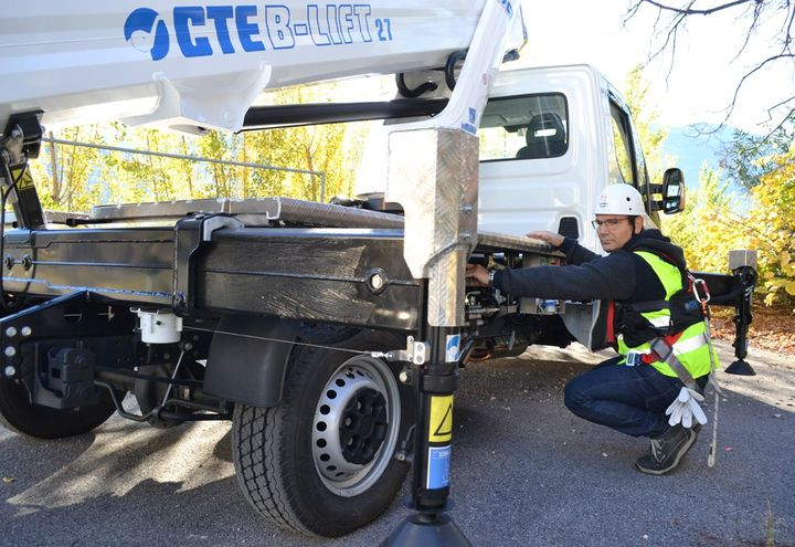 Nuovo video per CTE B-LIFT 27
