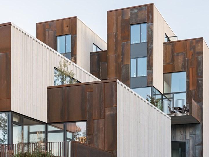 Zenhouses: 18 case urbane progetto di C.F. Møller Architects