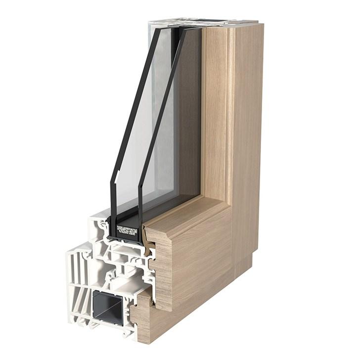 Fin ligna la linea di serramenti in alluminio legno e pvc for Serramenti pvc legno