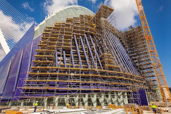 ULMA per la ristrutturazione del Palazzo Agora