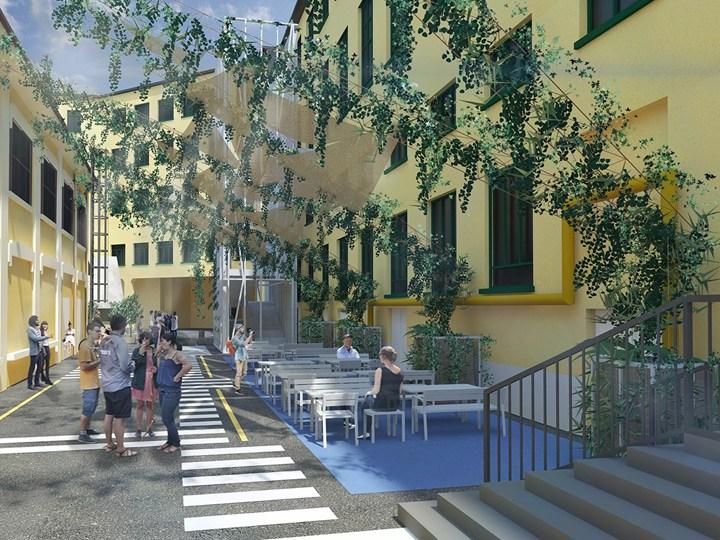 """Milano: micro-rigenerazione urbana """"in cortile"""""""
