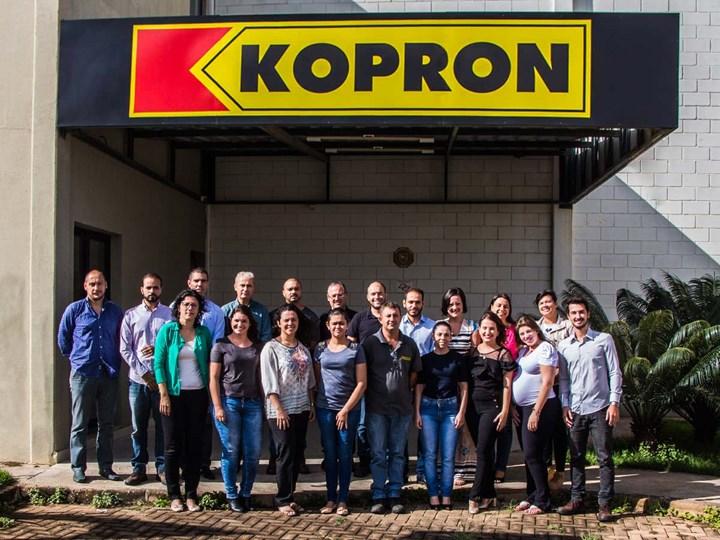 Kopron festeggia 10 anni di successi nella logistica in Brasile