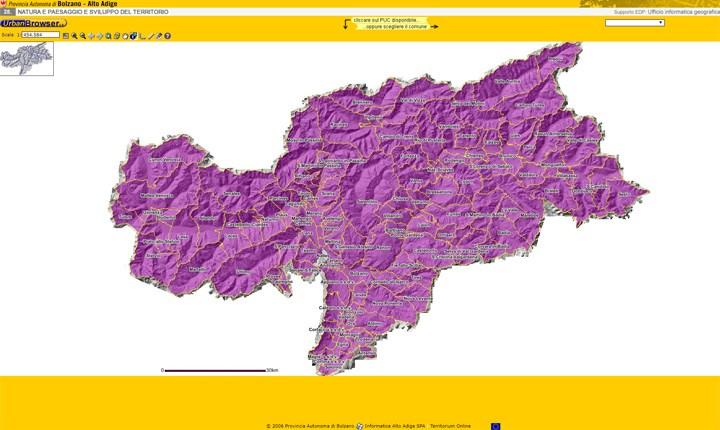 Bolzano, il PUC digitale sarà l'unico documento ufficiale