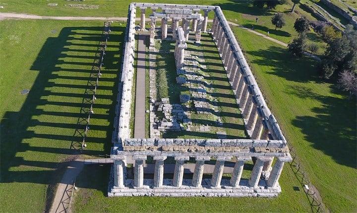 Il tempio di Hera a Paestum