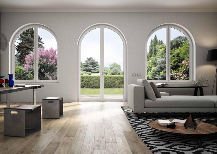 Con le finestre atipiche di Oknoplast ogni abitazione avrà un serramento personalizzato