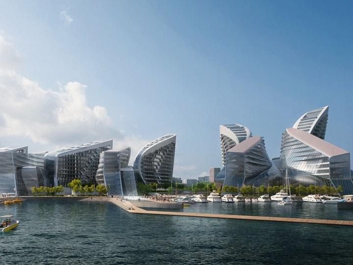 Zaha Hadid Architects vince il concorso per il rilanciare il porto di Novorossiysk