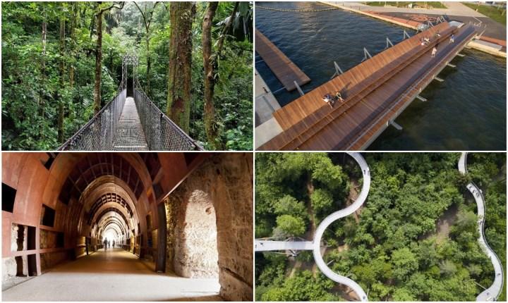 Passeggiate architettoniche a prova di vertigini
