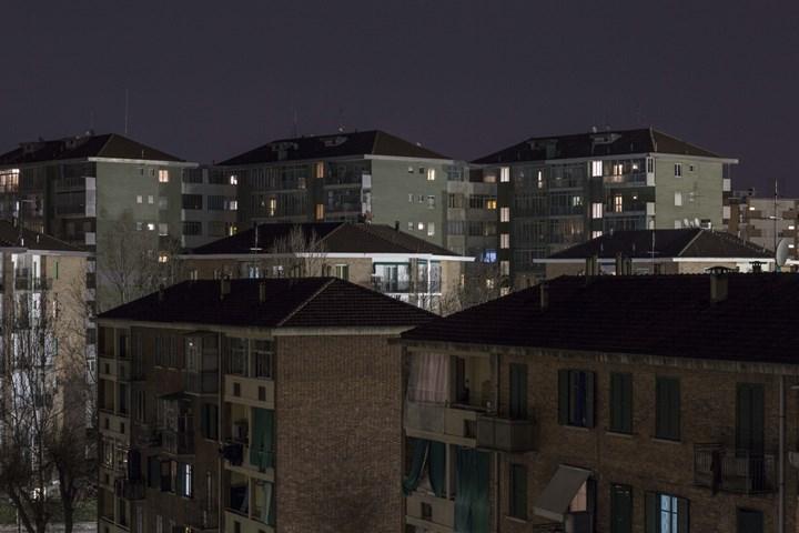 ©Dario Bosio DARST_Veduta delle case popolari nel Quartiere Mirafiori da via Pomavia Scarsellini, Torino, 2018