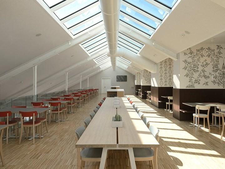 Bistrot: il nuovo ristorante nella Nuvola Lavazza