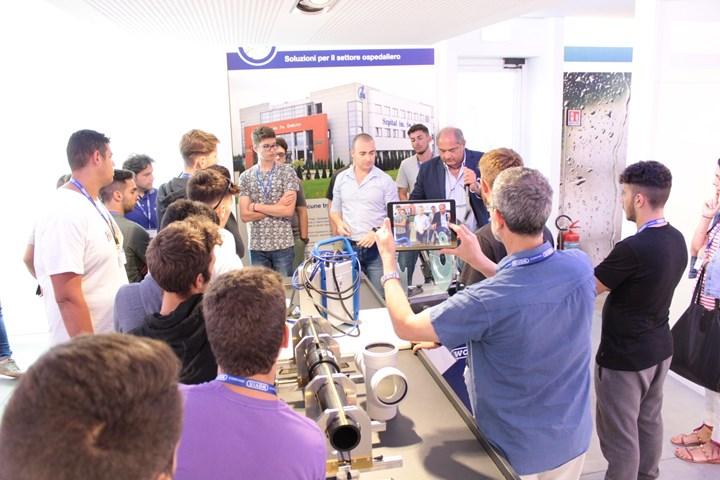 Wavin Italia ospita 24 studenti dell'I.I.S.S. di Monopoli (BA)