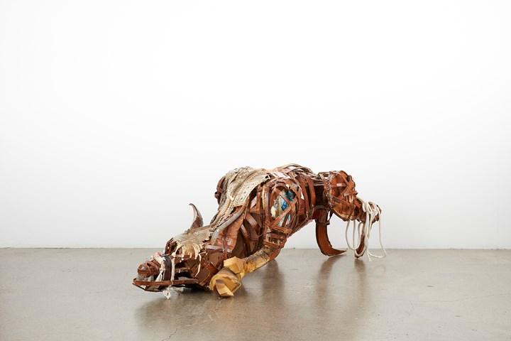 Lavar Munroe Midnight Predator, 2017 courtesy of Jack Bell Gallery