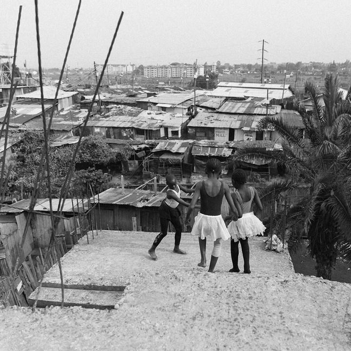 Sara Waiswa Ballet in Kibera (series) 2017 courtesy of the artist