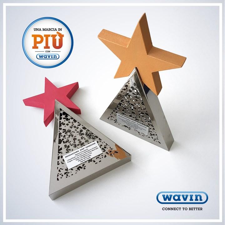 Wavin Italia premiata da Mediastars