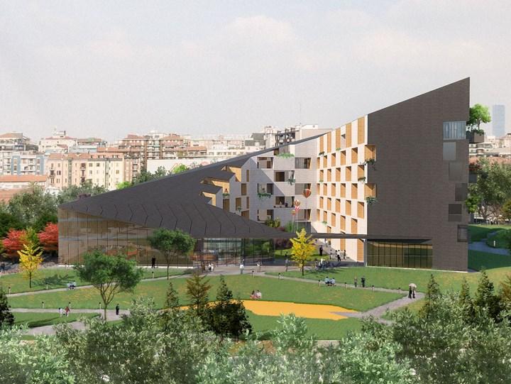 A Milano nasce un nuovo Bosco Verticale...lungo i Navigli