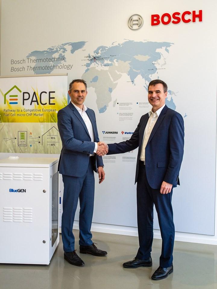Bosch Thermotechnik e Solidpower uniscono le forze